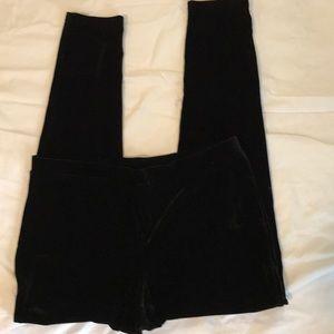 Chico's soft velvet slacks. Size 2 or large.